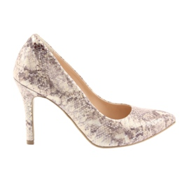 Női cipő Edeo 3313 kígyó bőr