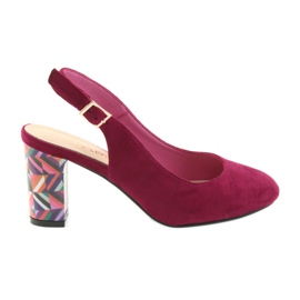Sandale na postu Sergio Leone 788 roze