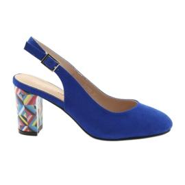 Sandale na post Sergio Leone 788 indigo mic plava