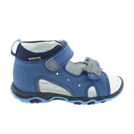 Szandál fiúk fehérrépa Bartek 51489 kék