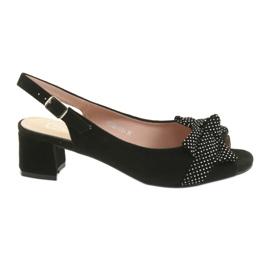 Filippo 788 sandale crne / točkice