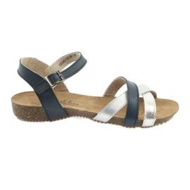Sandale sportske mornarske / srebrne Filippo 245