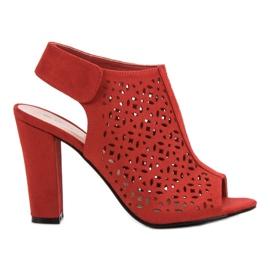 Queen Vivi crvena Otvorene sandale s gornjim dijelom