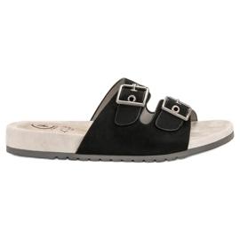 Kylie Klasične crne papuče crna