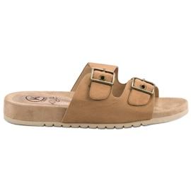 Kylie Klasične smeđe papuče
