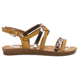 Seastar Modne sandale od deve smeđ