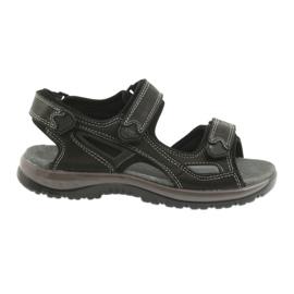 Crna Velcro sandale svijetlo EVA DK crne