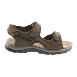 Velcro sandale svijetlo dno EVA DK smeđe
