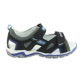 Dječačke sandale repa Bartek mornarsko-siva