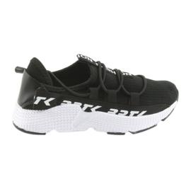 Bartek sportcipők fekete 55109 bőrbetét