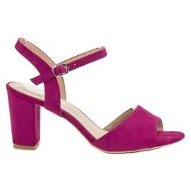Filippo Sandale u potpeticama purpurna boja