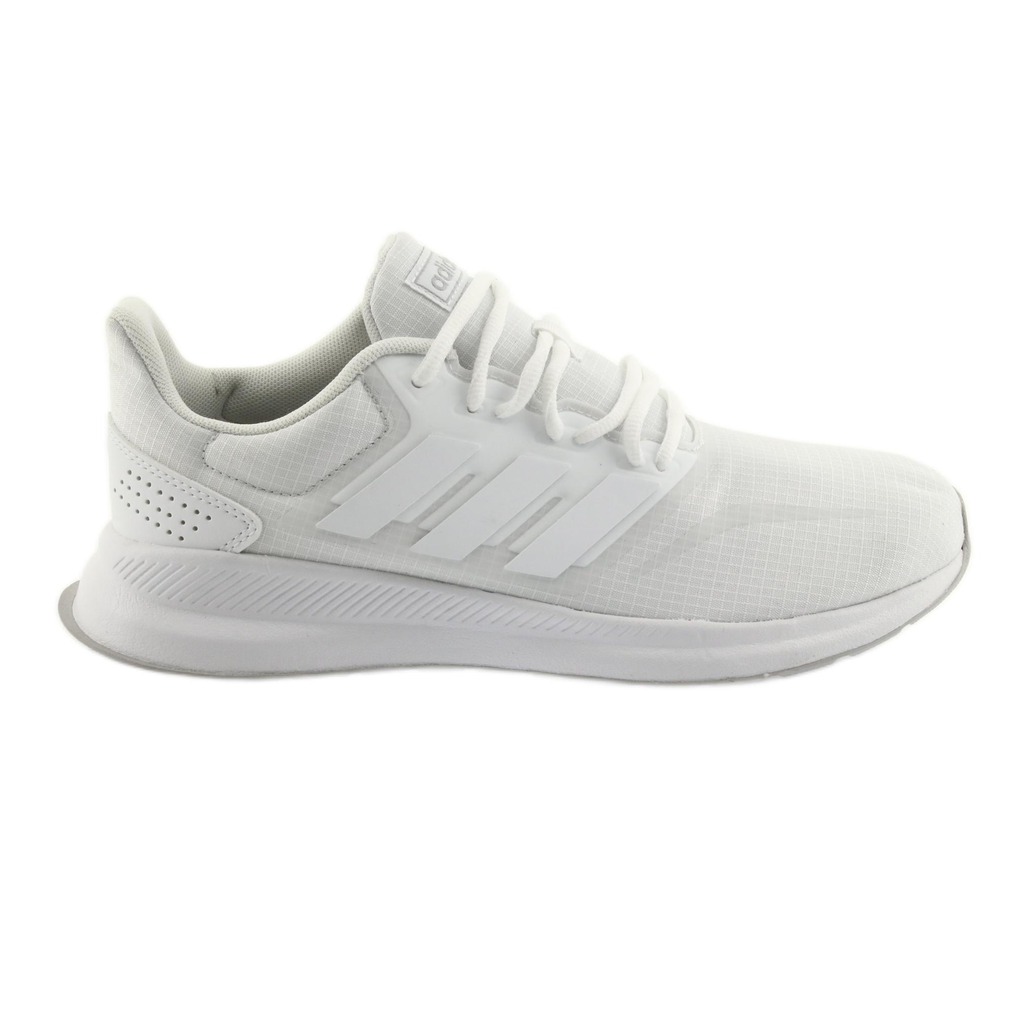 c44f891d80fe Fehér Adidas Runfalcon M F36211 cipő - ButyModne.pl