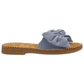 Seastar plava Plave papuče s lukom