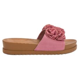 Primavera Rózsaszín papucs