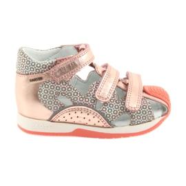 Bartek 81021 sandale ružičasto zlato