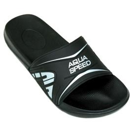 Fekete Aqua-Speed papucsok Dakota M col.7