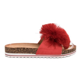 Seastar Papuče s resicom crvena