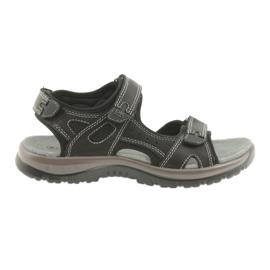 Crna DK sandale crne Velcro svjetlo EVA dnu