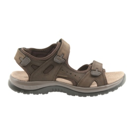 Sandale DK Smeđa Velcro svjetlost EVA