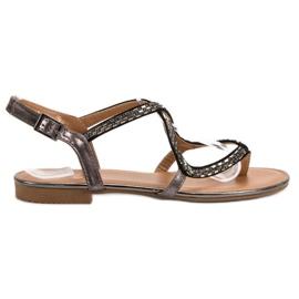Small Swan Japanske sandale siva