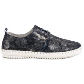 Filippo Kötött bőr cipő