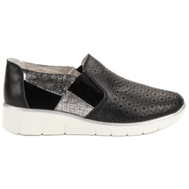 Filippo Fekete cipő Slip On