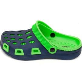 Aqua-Speed Papuče s vodenom brzinom, Silvi Jr col 48 zelena mornarsko plava