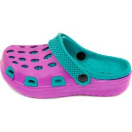Papuče Aqua-speed Silvi Jr col 09 ljubičasto plava