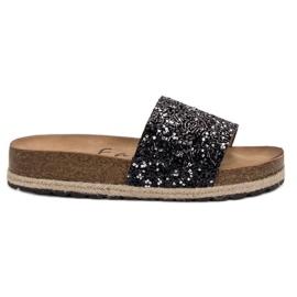 Goodin Modne ženske papuče crna