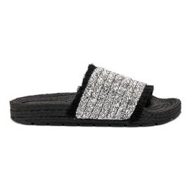 Udobne VICES papuče crna