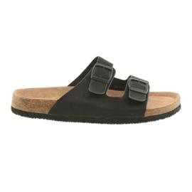 Crna Muške profilirane papuče Big Star 174605 crne