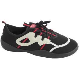 Strandcipők Aqua-speed fekete szürke-piros 19A