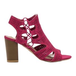 Goodin roze Modne sandale Fuchsia