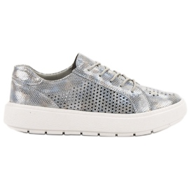 Goodin Čipkaste cipele siva