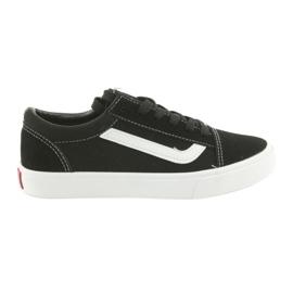 Atletico AlaVans fekete kötött cipők