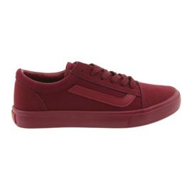 AlaVans Atletico 18081 kötött cipők Burgundia