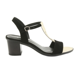 Sandale za žene Anabelle 1447 crna / zlatna