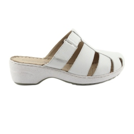 Ženske papuče Caprice 27350 bijele bijela