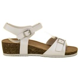 Seastar Klasične sandale na klin bijela