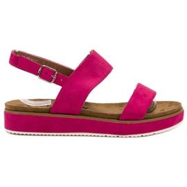 Goodin roze Sandale fuksije