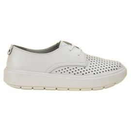 Goodin Lagane cipele od kože bijela