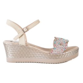 Kylie smeđ Ležerne sandale