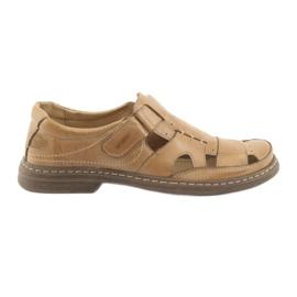 Naszbut Pune sandale Naš 968 bež smeđ