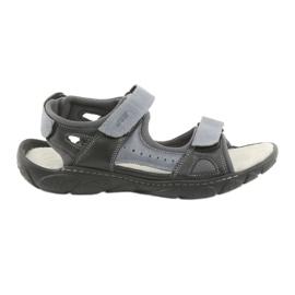 Naszbut Velcro kožne sandale 043