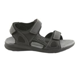 American Club crna Američke sportske sandale za mlade HL08 cz