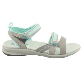 Djevojke sandale American Club HL12 sive