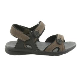 American Club Američke sportske sandale za mlade HL09 crna / kaki