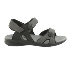 American Club Američke sportske sandale HL09 crne / sive