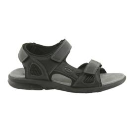 American Club Američke sportske sandale HL06 crne crna