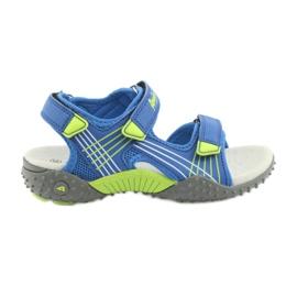 Sandałki chłopięce American Club HL16 kék / mész